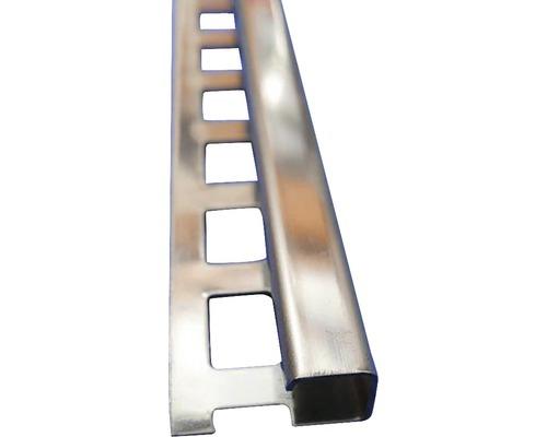 Lišta NEREZ obloukový profil 8x2500 mm šedá