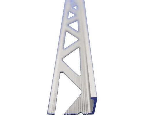 Lišta ALU L profil 4,5x2500 mm elox stříbrný