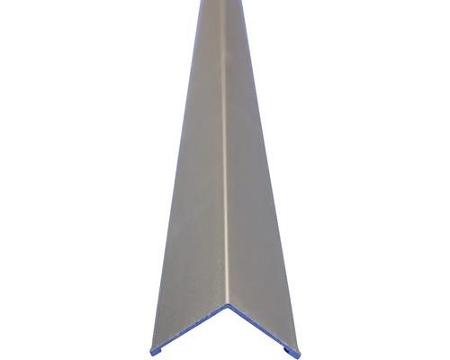 Lišta ALU L profil 20x20x2500 mm elox stříbrná