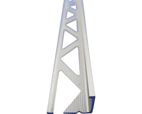 Lišta ALU L profil 6x2500 mm elox stříbrný