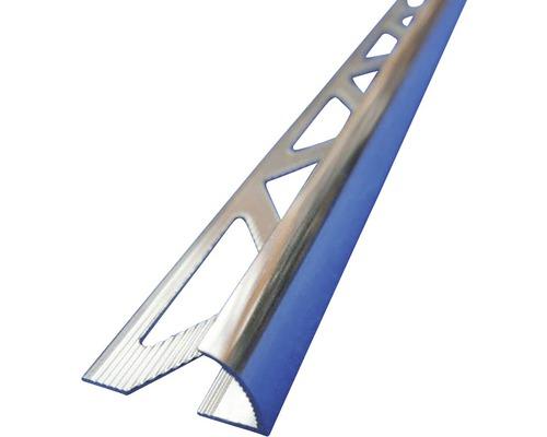 Lišta ALU vnější roh 10x2500 mm lak lesklý