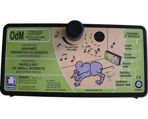 Odpuzovač hlodavců OdM akustický regulovatelný