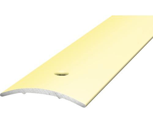 ALU přechodový profil sahara 2,7m 30x1,6mm šroubovací (předvrtaný)