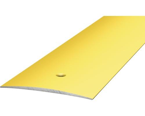 ALU přechodový profil zlatý 2,7m 40mm šroubovací (předvrtaný)
