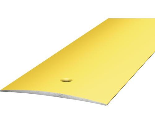 ALU přechodový profil zlatý 2,7m 50mm šroubovací (předvrtaný)