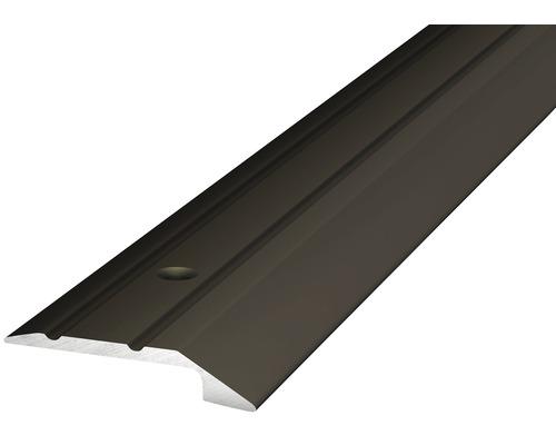 ALU ukončovací profil bronz 2,7m 4-5mm x 30mm šroubovací (předvrtaný)