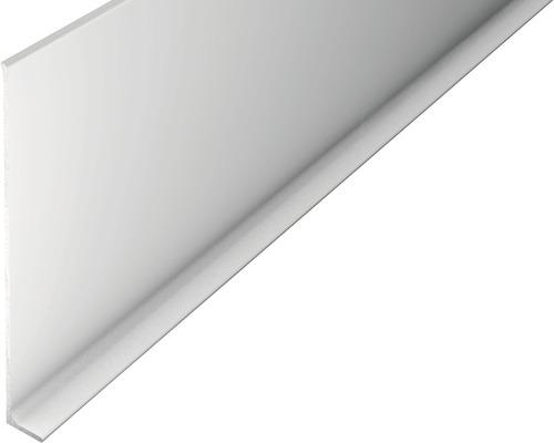ALU-soklová lišta 2,5m 100mm stříbrná bez děrování
