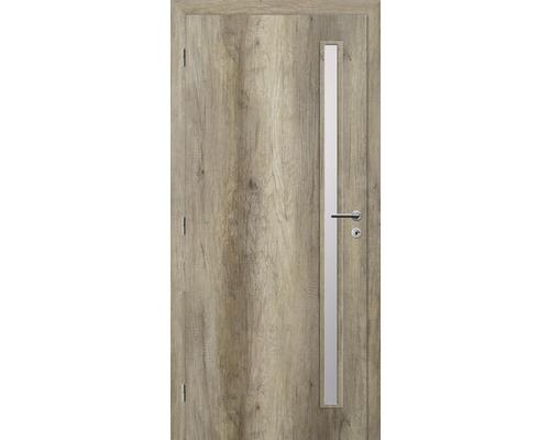 Interiérové dveře Solodoor Zenit 20 prosklené 90 L dub canyon (VÝROBA NA OBJEDNÁVKU)