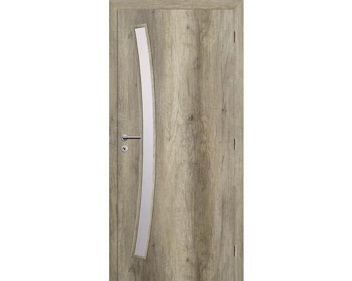 Interiérové dveře Solodoor Zenit 21 prosklené 60 P dub canyon (VÝROBA NA OBJEDNÁVKU)