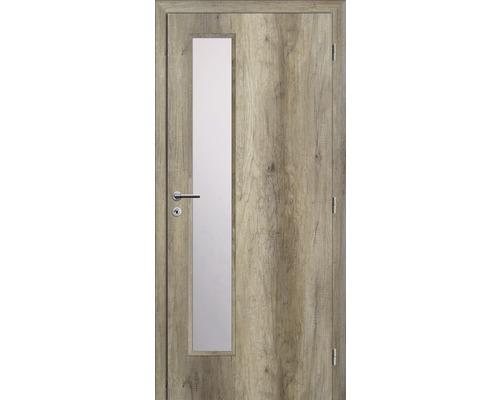Interiérové dveře Solodoor Zenit 22 prosklené 70 P dub canyon (VÝROBA NA OBJEDNÁVKU)