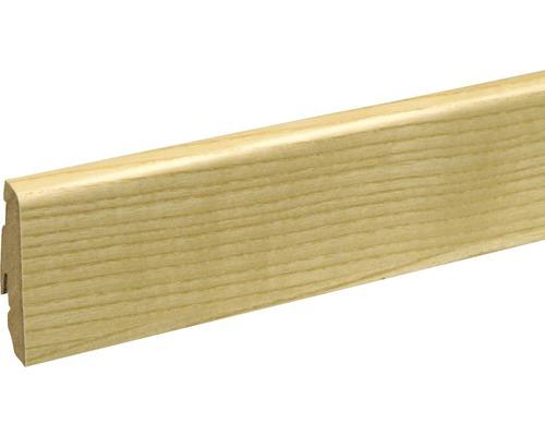Soklová lišta Skandor jasan lakovaný SU060L 19x58x2400 mm