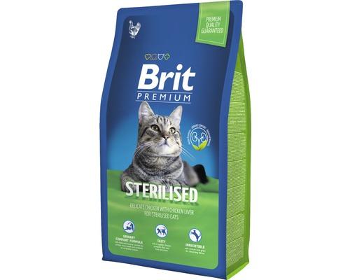 Granule pro kočky Brit Premium Cat Sterilised 8 kg