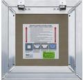 Revizní dvířka KERVAL V do vlhka 200 x 200 x 12,5 mm