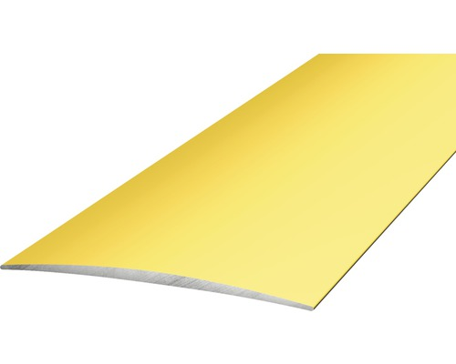 ALU přechodový profil zlatý 2,7m 50mm samolepící