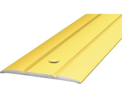 ALU přechodový profil zlatý 0,9m 38mm šroubovací (předvrtaný)