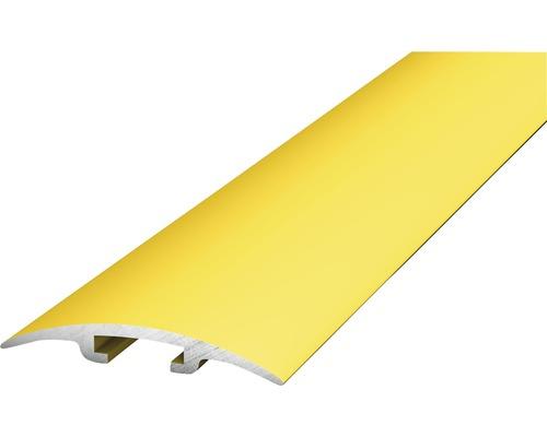 ALU přechodový profil, zlatý 2,7m, 33mm; D.O.S. - nešroubuje se