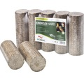 Dřevěné brikety BIOMAC Energo Hard válcové balení 10 kg