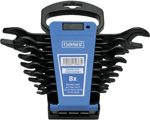 Sada stranových klíčů Narex 8 dílů