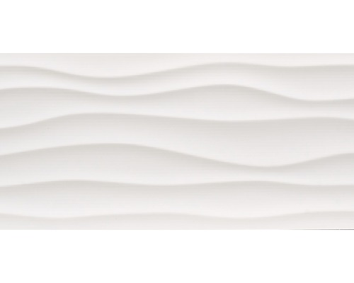 Dekor Flow Blanco Brillo 29,8x59,8 cm