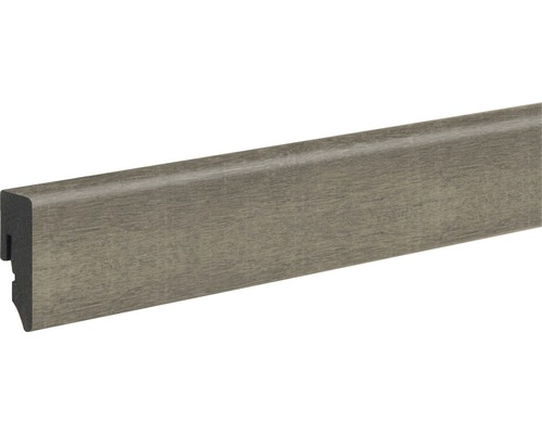 Podlahová lišta Skandor PVC KU048L dub 15x38,5x2400 mm
