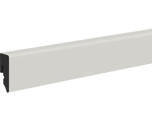 Podlahová lišta Neuhofer KU048L plastová 2400 x 38,5 x 15 mm světle šedá