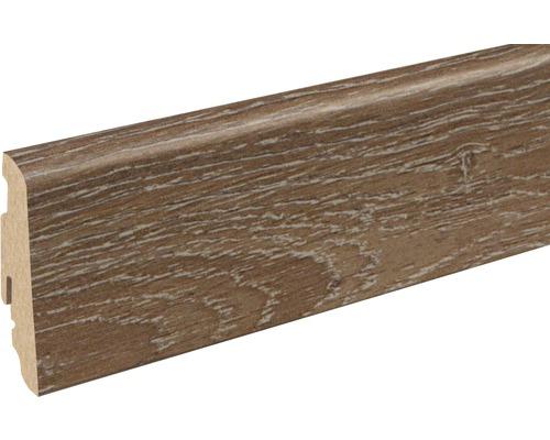Soklová lišta Skandor dub bronz FU60L 19x58x2400 mm