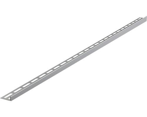 Nerezová lišta pro spádované podlahy 12x1000 mm levá