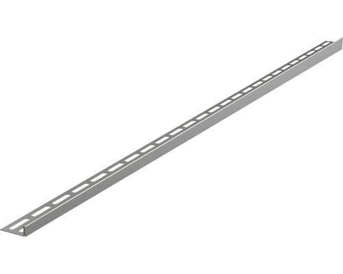 Nerezová lišta pro spádované podlahy 12x1200 mm levá