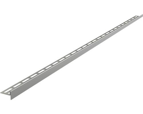 Nerezová lišta pro spádované podlahy 12x1200 mm pravá